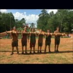 Bleckley FFA members at the end of SLC mud run.