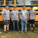 Congratulations to the Senior FFA Land judging team for winning the Area 3 CDE yesterday! Good luck at state competition!